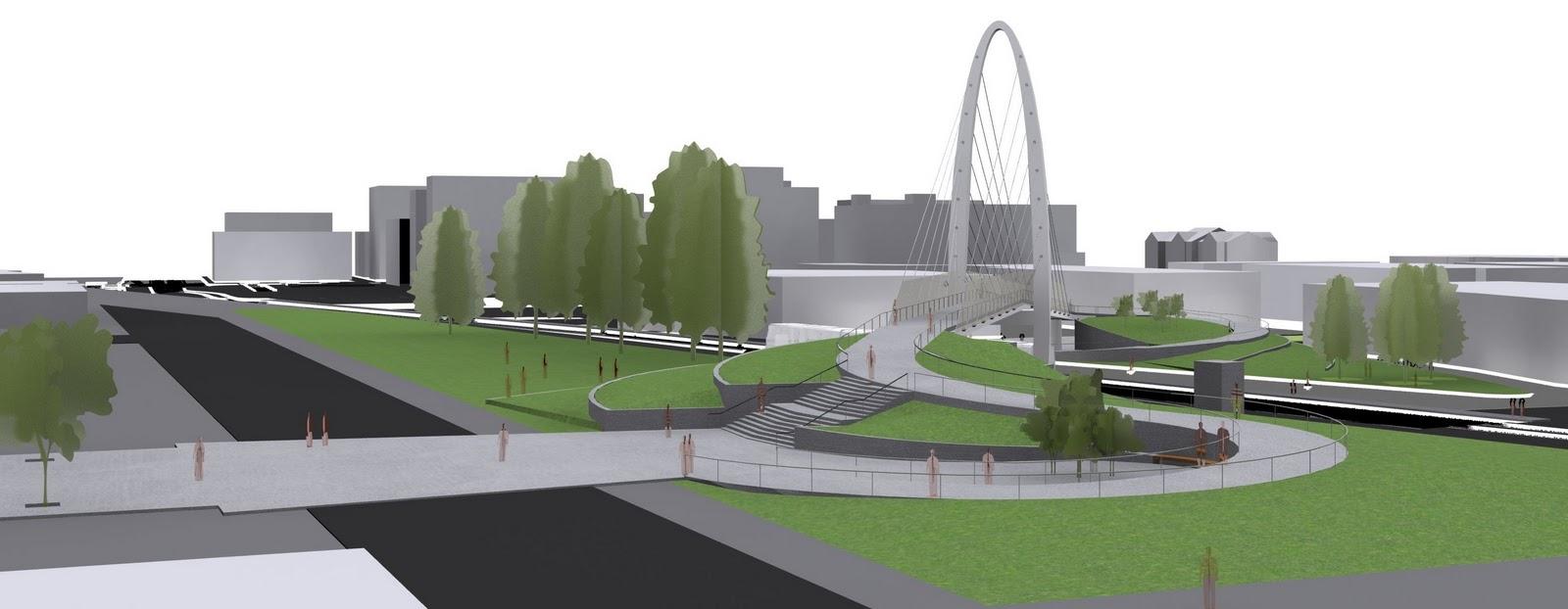 Cable-stayed bridge | Spokane Economic And Demographic Data